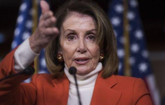 «Βράζει» η Ουάσιγκτον: Η Νάνσι Πελόσι άφησε να εννοηθεί ότι ο Ερντογάν «κρατά» και εκβιάζει τον Τραμπ