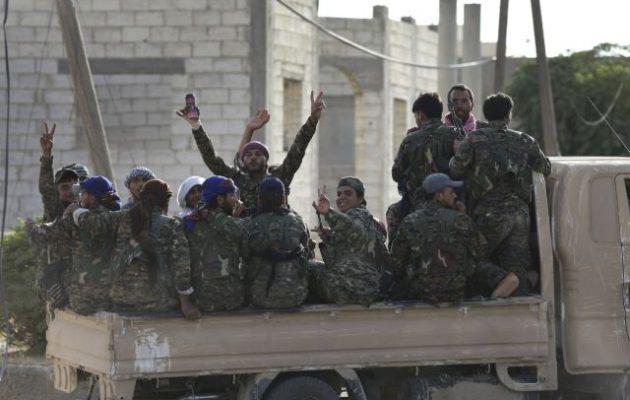 Οι SDF πολύ κοντά να διώξουν το Ισλαμικό Κράτος από την πόλη Χατζίν στην αν. Συρία