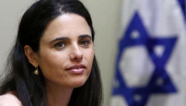 Ισραηλινή υπουργός Αγιελέτ Σακέντ: «Οι Κούρδοι είναι σύμμαχοι – Εύχομαι να νικήσουν τους Τούρκους»