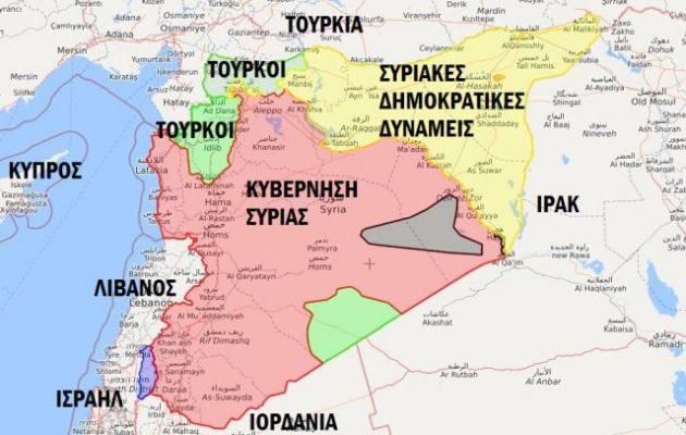 Οι Ρώσοι μετέφεραν S-300 στην ανατολική Συρία μια «ανάσα» από Κούρδους και Αμερικανούς
