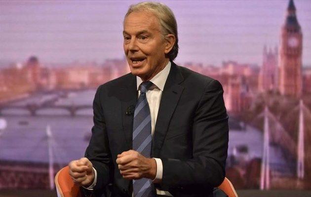 Ο Τόνι Μπλερ προτρέπει τον βρετανικό λαό να «βγάλει τη χώρα από το αδιέξοδο»
