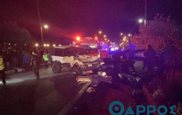 Τραγωδία στην Κυπαρισσία: Δύο ανήλικοι και ένας 23χρονος έχασαν τη ζωή τους σε τροχαίο (βίντεο)