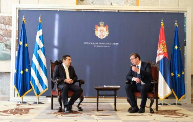 Το συγκινητικό tweet του Βούτσιτς για τον Τσίπρα και τους Έλληνες: «Υποστηρίξατε την εδαφική μας ακεραιότητα»
