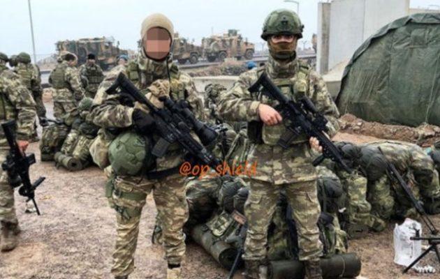 Τέσσερις Τούρκοι στρατιώτες νεκροί από έκρηξη βόμβας στη Β/Α Συρία