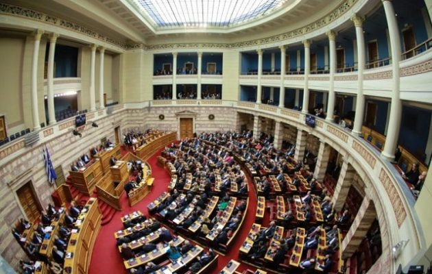 Δεύτερη ψηφοφορία στη Βουλή για τις διατάξεις του Συντάγματος για αλλαγή