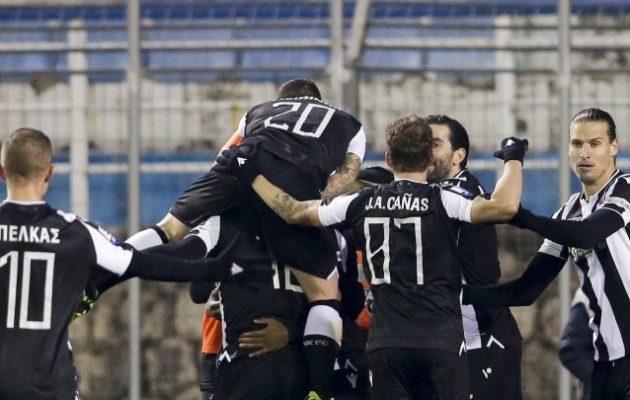 Ασταμάτητος ο ΠΑΟΚ κέρδισε και στη Λαμία 0-1