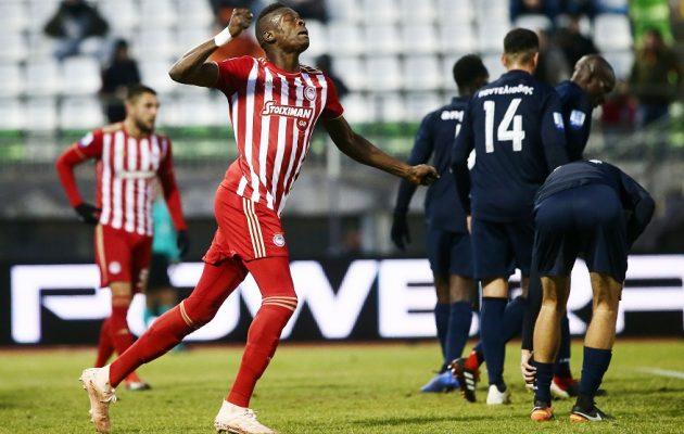Super League: Ο Ολυμπιακός νίκησε 2-0 τον Λεβαδειακό
