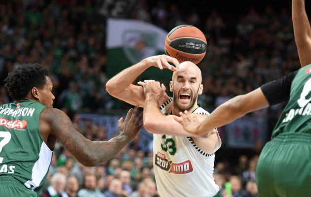 Euroleague: Χάνει την 8αδα ο Παναθηναϊκός – Έχασε από την Ζαλγκίρις 82-69