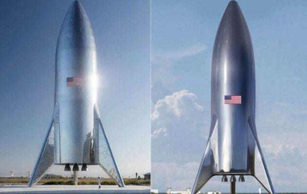Αυτό είναι το δοκιμαστικό του διαστημοπλοίου Starship του Έλον Μασκ