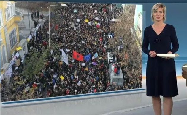 Στην Αλβανία η κατάσταση είναι δραματική μεταδίδει η γερμανική τηλεόραση