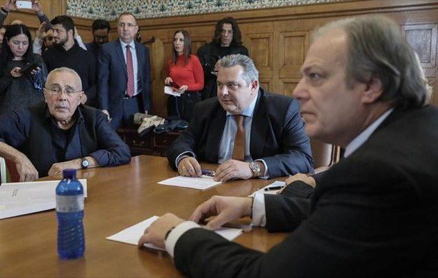 Σε εξέλιξη η συνεδρίαση της Κοινοβουλευτικής Ομάδας των ΑΝΕΛ