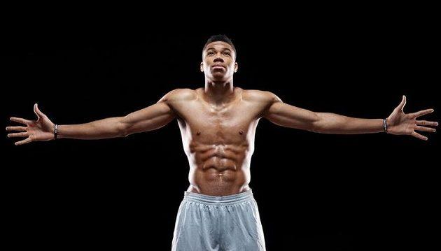 Ο Γιάννης Αντετοκούνμπο είναι ο τρίτος πιο γυμνασμένος αθλητής στον κόσμο