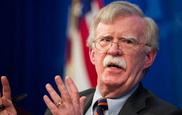 Τζον Μπόλτον: Ο Τραμπ σκέφτεται ότι οι Κούρδοι ήσαν σύμμαχοί μας και δεν πρέπει να υποφέρουν