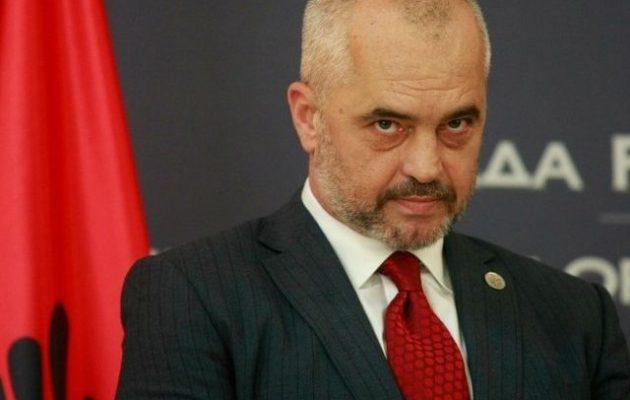 """«Εγώ """"Μεγάλη Αλβανία""""; – Ποτέ! Με παρεξηγήσατε» λέει ο Ράμα"""