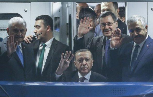 Ερντογάν: «Θέλουν να μας διαμελίσουν – Τετελεσμένα σε Κύπρο, Αν. Μεσόγειο και Αιγαίο εναντίον μας»