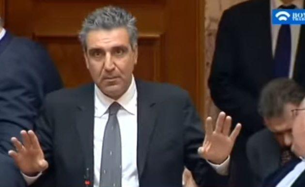 Εσείς τον ψηφίσατε! Αριστείδης Φωκάς στη Βουλή: «Πήγα τουαλέτα, είχα πιει γκαζόζα» (βίντεο)