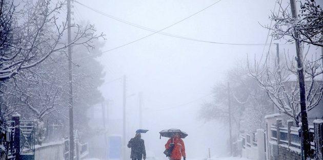 Χαλάει ο καιρός τη Δευτέρα – Βροχές, καταιγίδες και χιόνια