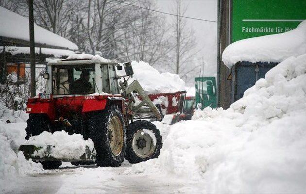 Αυστρία και Γερμανία τα… είδαν όλα από την κακοκαιρία – «Κόλαση του χιονιού»