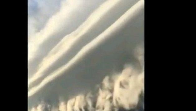 Δείτε πως καταιγίδα σκέπασε τον ουρανό του Μπουένος Άιρες (βίντεο)