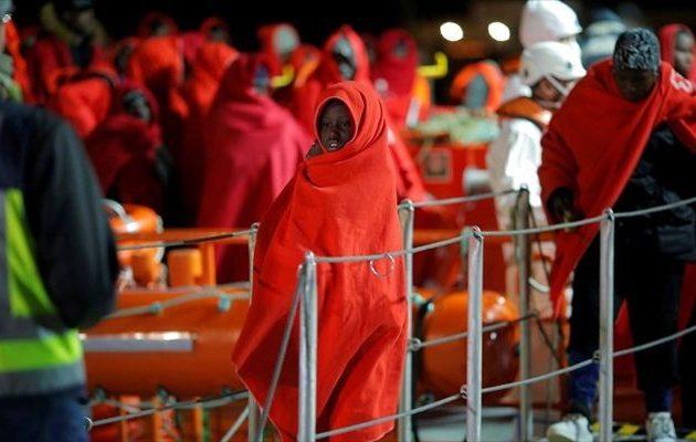 Η Μεσόγειος έγινε υγρός τάφος για τουλάχιστον 200 μετανάστες τον Ιανουάριο