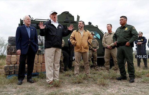 Ο Τραμπ είπε ότι τα σύνορα ΗΠΑ-Μεξικού είναι σε «κρίση εθνικής ασφάλειας»