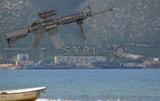 Στην Αλβανία ψάχνουν να βρουν τα όπλα που κλάπηκαν από το στρατόπεδο