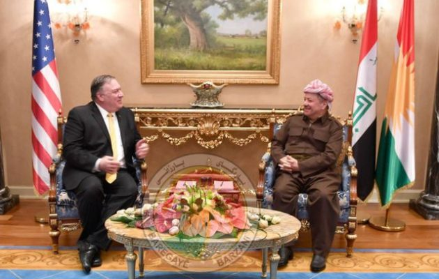 Ο Μάικ Πομπέο επισκέφθηκε το ιρακινό Κουρδιστάν και διαβεβαίωσε ότι οι Κούρδοι θα προστατευθούν