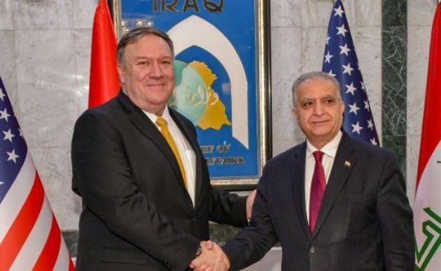 Αιφνιδιαστική επίσκεψη Πομπέο στο Ιράκ – Διαβεβαιώσεις ότι οι ΗΠΑ δεν εγκαταλείπουν