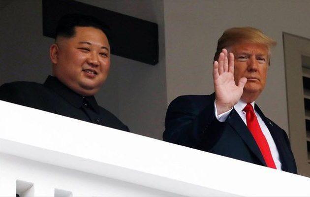 Τραμπ: Η Βόρεια Κορέα θα ακμάσει αν «ο φίλος μου» Κιμ Γιονγκ Ουν αφήσει τα πυρηνικά