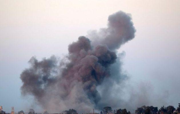 Συρία: O διεθνής συνασπισμός υπό τις ΗΠΑ έπληξε τέμενος-στρατηγείο του Ισλαμικού Κράτους