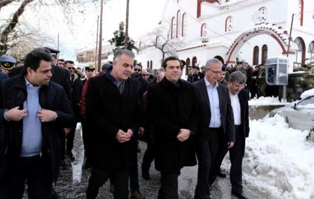 Στη Σαμοθράκη εόρτασε τα Θεοφάνεια ο Αλέξης Τσίπρας