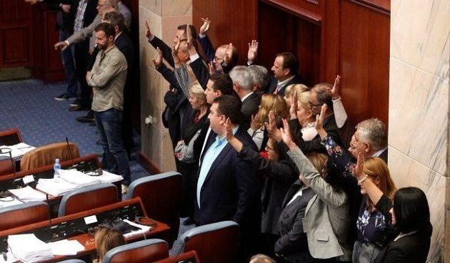 Το VMRO έπαθε… ΝΔ για τη ρηματική: Η «Μακεδονία» είναι ταπεινωμένη και γονατισμένη