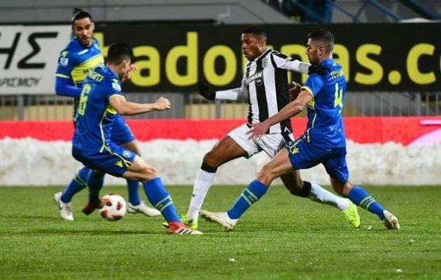 Super League: Ακλόνητος στην κορυφή ο ΠΑΟΚ – Πέρασε και από την Τρίπολη με 3-0