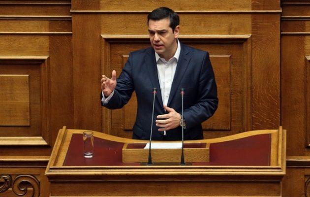 Τσίπρας: Η χρήση του όρου «Μακεδονία» και «μακεδονικός» αφήνονται μόνο στην Ελλάδα
