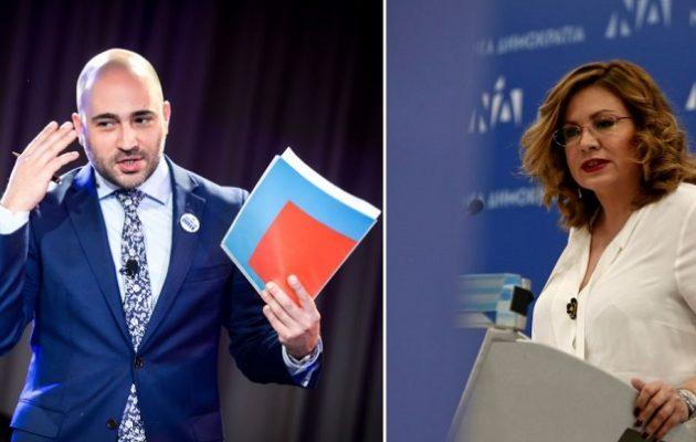 Ο Μπογδάνος «καρφώνει» Σπυράκη: Τα λάθη της θα έχουν εκλογικό κόστος για τη ΝΔ