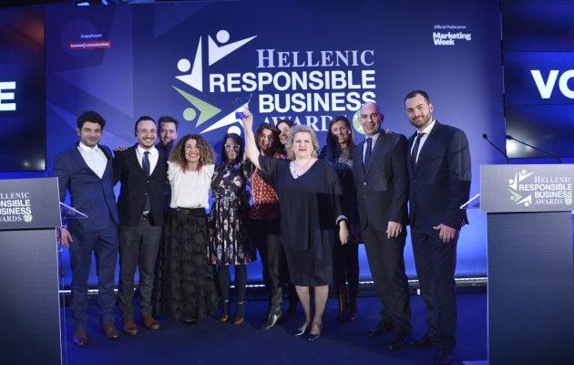 Corporate Brand της χρονιάς αναδείχθηκε η Vodafone στα Hellenic Responsible Business Awards 2019