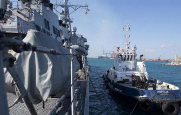 Στη Λεμεσό έδεσε το αντιτορπιλικό USS McFaul του 6ου Αμερικανικού Στόλου