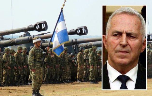 Η Βόρεια Μακεδονία «δένει» τον στρατό της με την Ελλάδα – Αναλαμβάνει ο Αποστολάκης