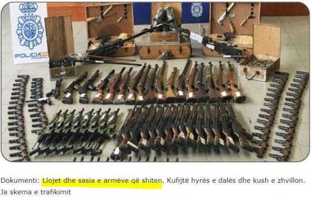 Στην Αλβανία χιλιάδες πολίτες έχουν στα χέρια τους παράνομα όπλα και χειροβομβίδες