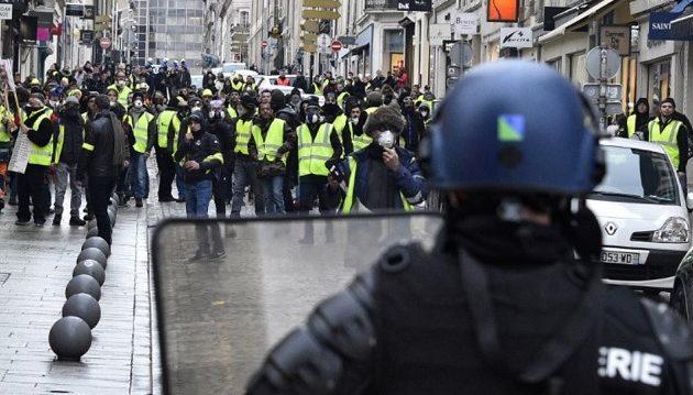 Πώς θα τιμωρείται όποιος συμμετέχει σε απαγορευμένη διαδήλωση στη Γαλλία