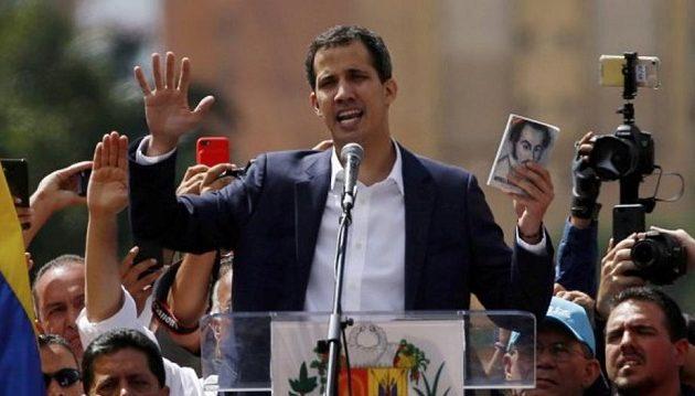 Γκουάιντο κατά Ιταλίας: Ακατανόητη η στάση της για τη Βενεζουέλα