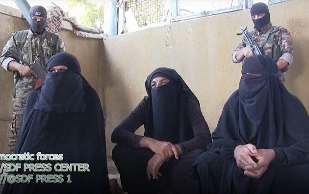 Τζιχαντιστές ντύνονται γυναίκες για να γλιτώσουν από τους Κούρδους
