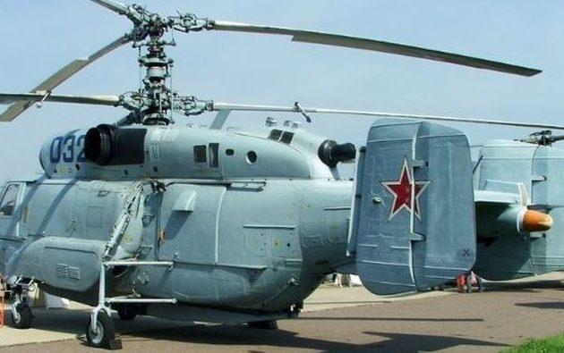 Η Ρωσία παρέδωσε στην Τουρκία το πρώτο από τα ελικόπτερα Ka-32 που έχει παραγγείλει