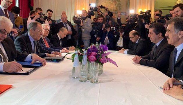 Ο καγκελάριος Ασφαλείας των Κούρδων του Ιράκ συναντήθηκε με τον Σεργκέι Λαβρόφ
