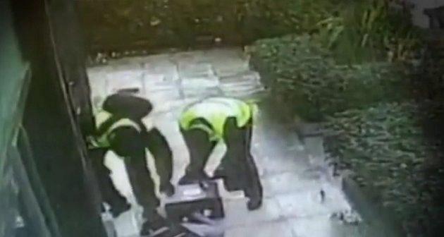 Πώς δύο ληστές έκλεψαν χρηματαποστολή στο Ψυχικό (βίντεο)
