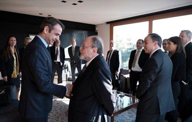 Ο Μητσοτάκης συναντήθηκε με εκπροσώπους γερμανικών εταιρειών