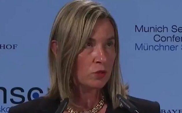 Ενθουσιασμένη η Μογκερίνι που τα Σκόπια εντάσσονται στο ΝΑΤΟ