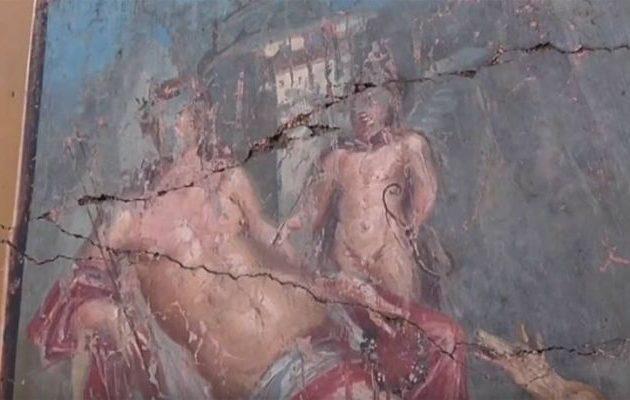 Εξαιρετικά διατηρημένη τοιχογραφία του Νάρκισσου ανακαλύφθηκε στην Πομπηία