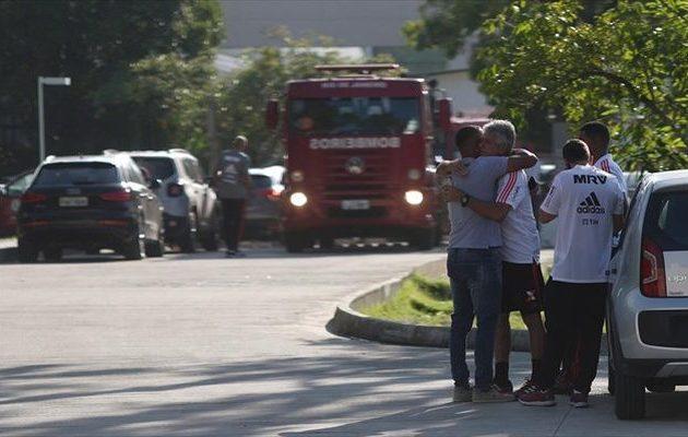 Θρήνος στη Βραζιλία: Παιδιά και έφηβοι ανάμεσα στα θύματα στο τραγικό προπονητήριο
