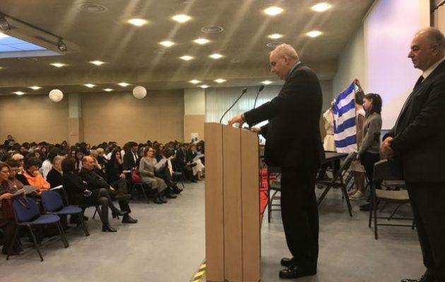 Η Ιταλία στηρίζει την Παγκόσμια Ημέρα Ελληνικής Γλώσσας – Τι είπε ο Τέρενς Κουίκ